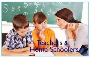 Image for Teachers & Home Schoolers
